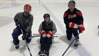 PT students raise over $1,000 for Metro Detroit Sled Hockey