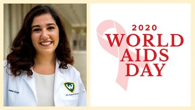 PharmD student leaders raise awareness about HIV/AIDS