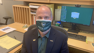 WATCH: Dean Cummings has a 30-second message for students about staying safe