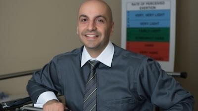 Associate Professor of Physical Therapy Moh Malek earns prestigious Century Citation Club honor