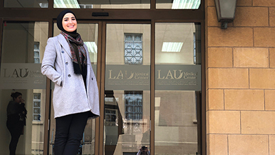 Exchange program with Lebanese American University gives PharmD grad insight into pharmacy practices abroad