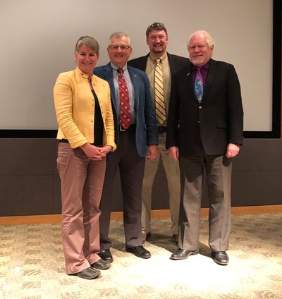 Randy Jirtle delivered the keynote at WSU Applebaum's 2018 Research Day