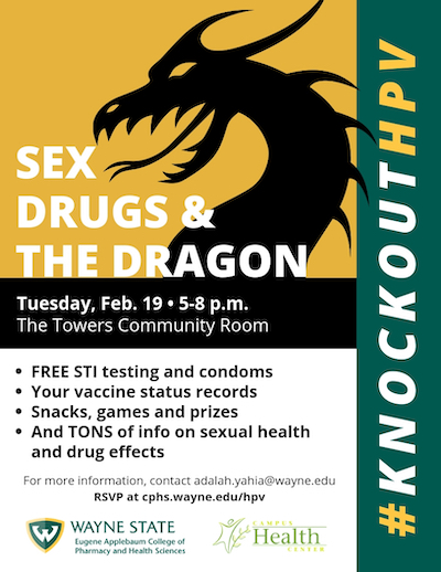 Sex, Drugs and the Dragon event poster