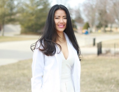 My Tran, PharmD candidate at the Eugene Applebaum College of Pharmacy and Health Sciences