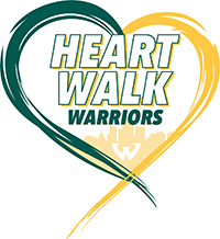 Warriors for Heart logo
