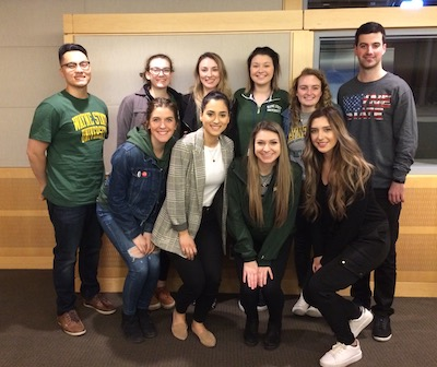 The Eugene Applebaum College of Pharmacy and Health Sciences Radiation Therapy Technology Class of 2019 will travel to a national conference thanks to a $5000 gift from alumna Kolleen Kennedy.