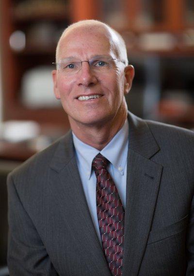 UNC Executive Vice Chancellor Robert Blouin