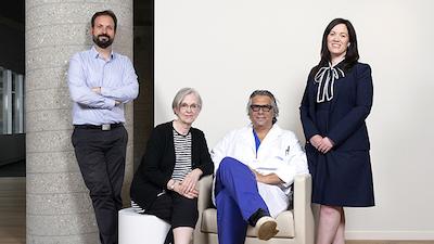 Neil Fleshner's research team