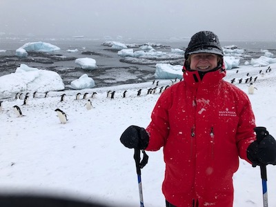 Schmoll in Antarctica
