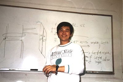 Xie at Wayne State in the 1990s
