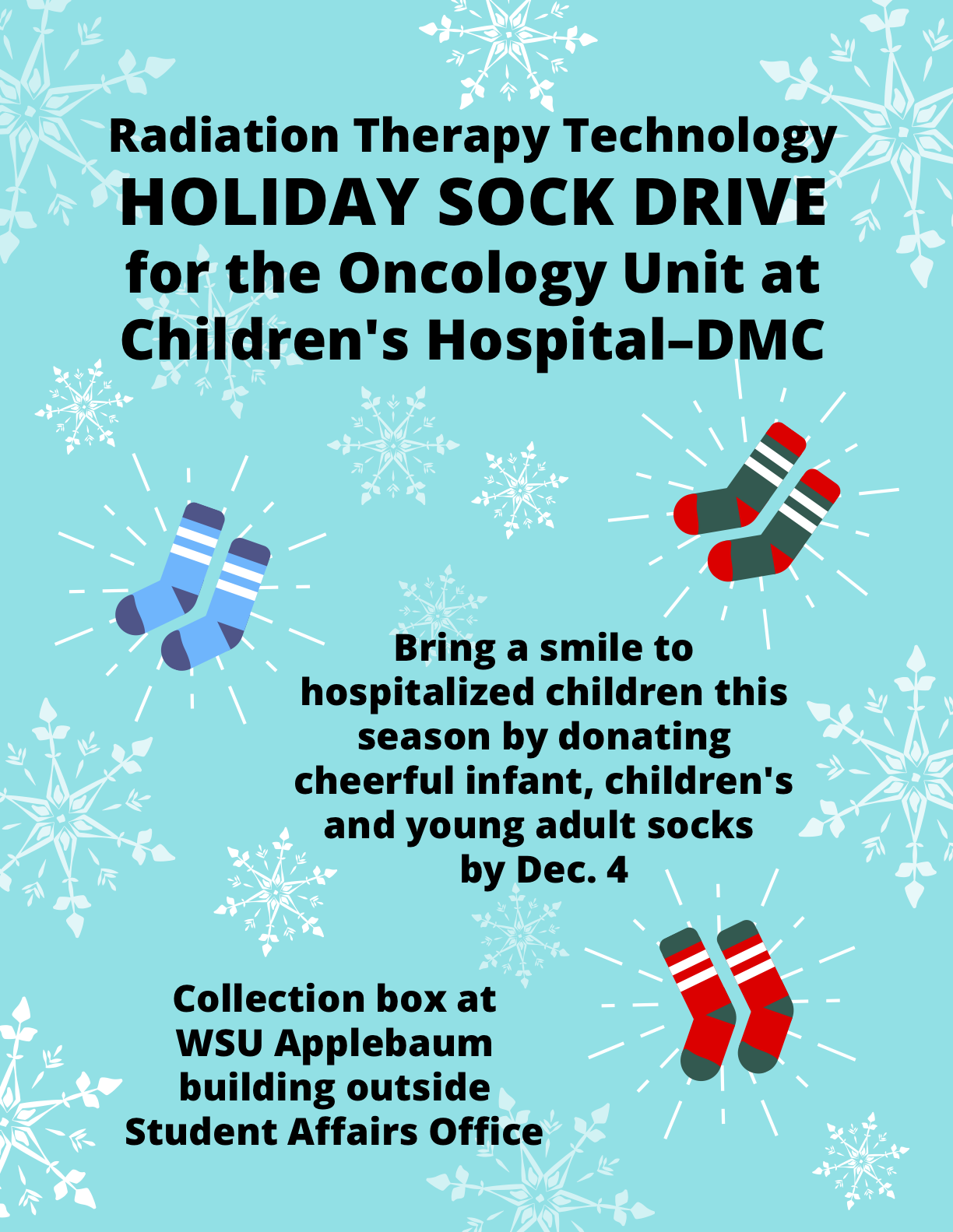 Sock Drive Poster