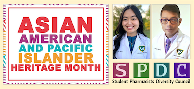 SPDC President-Elect Linh Pham and Vice-President Joseph Paul Javier invite WSU students, faculty and friends to celebrate AAPI Heritage Month.